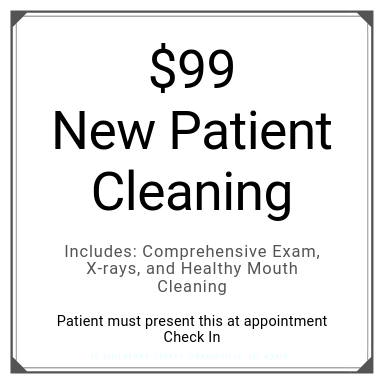 $99 New Patient Cleaning