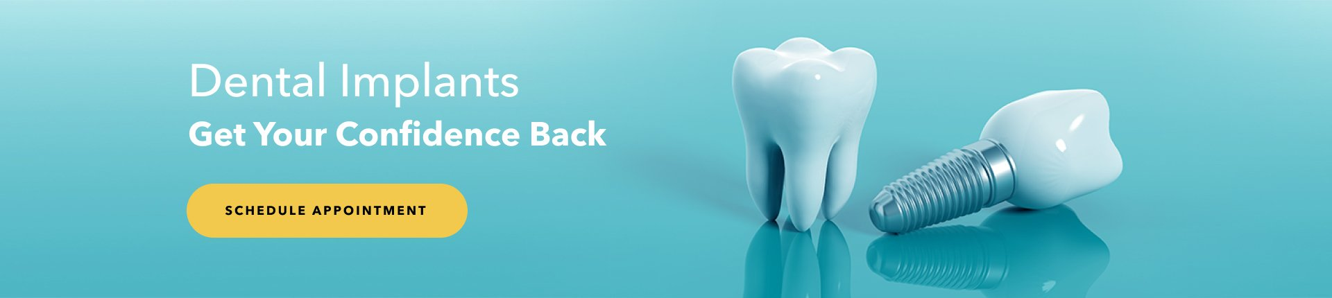 Dental Implant Welcome Banner